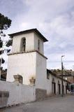 Igreja de Putre, o Chile Fotografia de Stock Royalty Free