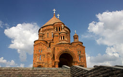 Igreja de Pyatigorsk Fotos de Stock