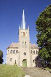 Igreja de Rõngu imagens de stock royalty free