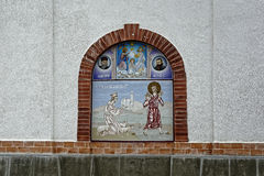 Igreja de Rasinari, Rasinari fotografia de stock