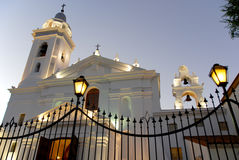 Igreja de Recoleta imagens de stock royalty free
