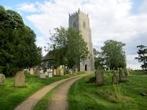 Igreja de Reedham Fotos de Stock Royalty Free