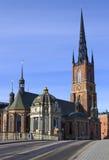 Igreja de Riddarholmen. Foto de Stock Royalty Free