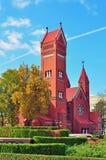 Igreja de Roman Catholic Fotos de Stock Royalty Free