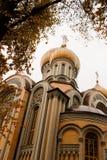 Igreja de Romanov em Vilnius Imagem de Stock