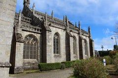 Igreja de Ronan de Saint em Locronan foto de stock