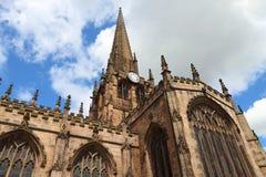Igreja de Rotherham, Reino Unido Fotos de Stock Royalty Free