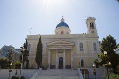 Igreja de São Nicolau em Grécia Fotografia de Stock