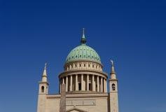 Igreja de São Nicolau em Potsdam, Alemanha Foto de Stock Royalty Free