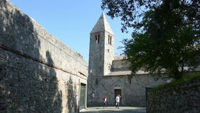 Igreja de São Nicolau em Sestri Levante filme