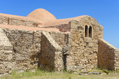 Igreja de S Giovanni del Sinis Fotografia de Stock Royalty Free