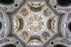 A igreja de S Lorenzo, Turin, Itália Foto de Stock Royalty Free