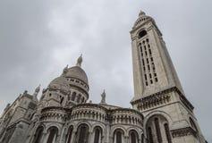 A igreja de Sacre Coeur em Paris, França Imagens de Stock