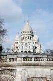 Igreja de Sacre Coeur em Paris v2 fotografia de stock royalty free