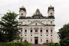 A igreja de Saint Cajetan do providência Divine de Goa idoso, mim fotos de stock