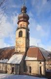 Igreja de Saint Catherine, Bruneck Foto de Stock
