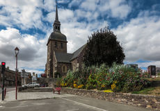 Igreja de Saint Eloi em Iffendic, França imagem de stock royalty free