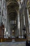 A igreja de Saint-Eustache em Paris Imagem de Stock Royalty Free