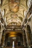 Igreja de Saint Filippo e Giacomo em Nápoles, Itália fotografia de stock royalty free