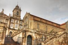 Igreja de Saint Francis em Porto fotos de stock royalty free