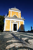 Igreja de Saint George, Portofino Fotografia de Stock Royalty Free