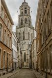 A igreja de Saint Gommaire em Lier, Bélgica Imagens de Stock