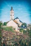 Igreja de Saint James, Kutna Hora, filtro checo, análogo foto de stock royalty free