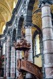 Igreja de Saint Loup em Namur, Bélgica Foto de Stock Royalty Free