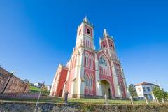 Igreja de Saint Peter Advincula em Cantábria Foto de Stock