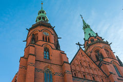 Igreja de Saint Peter e Paul Fotografia de Stock Royalty Free