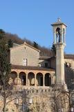 Igreja de Saint Quirino em São Marino fotos de stock