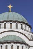 Igreja de Saint Sava em Belgrado foto de stock royalty free