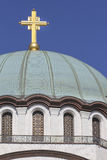 Igreja de Saint Sava em Belgrado imagem de stock royalty free