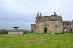 Igreja de San Bonaventura, Monterano, Lazio, Itália Imagem de Stock