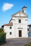 Igreja de San Carlo no d'Asti de Costigliole, Italy Fotos de Stock