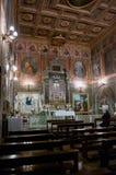 A igreja de San Cosimato em Roma Imagens de Stock Royalty Free