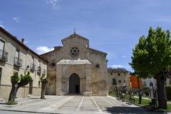 Igreja de San Felipe, Brihuega, Espanha imagens de stock