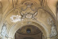 Igreja de San Filippo Neri em Turin imagem de stock