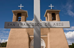 Igreja de San Francisco de Asis Fotografia de Stock Royalty Free
