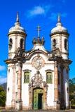 Igreja DE San Francisco DE Assis Ouro Preto stock foto's