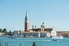 Igreja de San Giorgio Maggiore em Veneza, Itália Foto de Stock Royalty Free