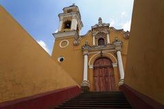 Igreja de San José em Xalapa fotografia de stock royalty free
