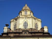 Igreja de San Lorenzo, Turin Imagem de Stock Royalty Free
