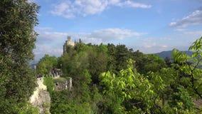 Igreja de San Marino video estoque