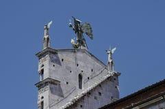 Igreja de San Michele-Lucca Itália Fotografia de Stock Royalty Free