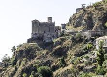 Igreja de San Nicolo em Savoca, Itália imagem de stock royalty free