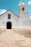Igreja de San Pedro de Atacama Fotos de Stock Royalty Free
