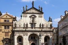 Igreja de San Salvatore, Praga Foto de Stock