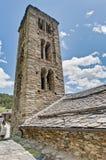 Igreja de Sant Climent no amigo, Andorra imagem de stock royalty free