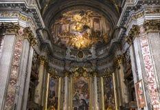 Igreja de Sant Ignazio, Roma, Itália Imagem de Stock Royalty Free